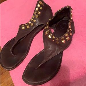 Tory Burch Sandals Genuine Leather